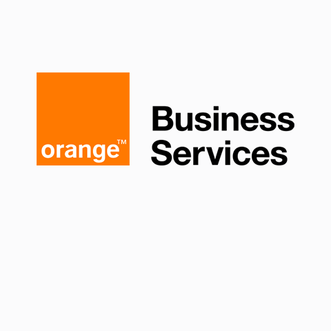 Orange Business Services Logo as a card